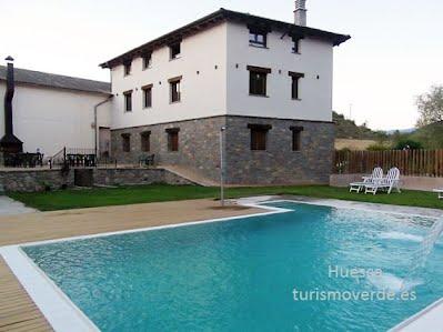 TURISMO VERDE HUESCA. Casa Lorenzo, casa rural en Las Ventas de Santa Lucia