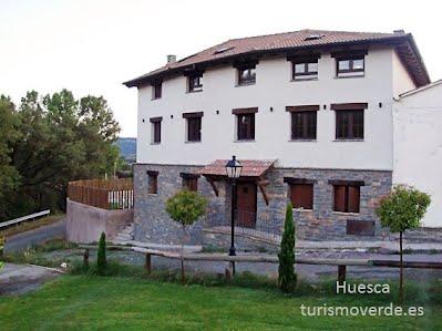 TURISMO VERDE HUESCA. Casa Lorenzo en Las Ventas de Santa Lucia, Graus